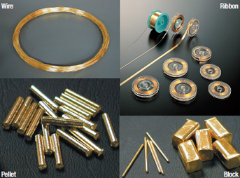 Gold alloy series