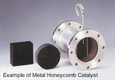 Example of Metal Honeycomb Catalyst