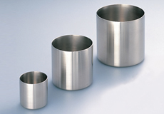 Oxide crystal growth crucibles