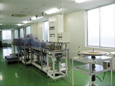 Inspection is possible at mass production environment