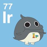77 Ir イリジウムのイラスト