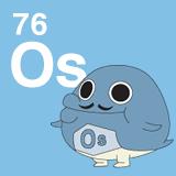 76 Os オスミウムのイラスト