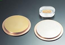 溶解法によるターゲット・蒸着材の製品イメージ