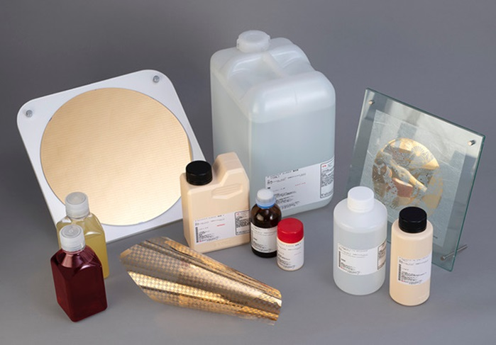 各種めっきプロセスの製品イメージ