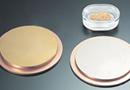 溶解法によるスパッタリングターゲットと真空蒸着材の製品イメージ