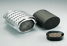 自動車・石油化学系使用済み触媒リサイクルのイメージ