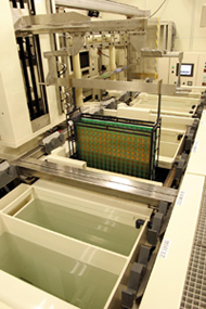 生産現場の視点で見た、豊富な設備